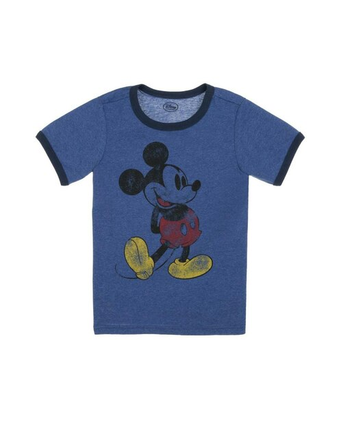 Playera Disney Collection Mickey and Minnie para niño d57c686051cfd