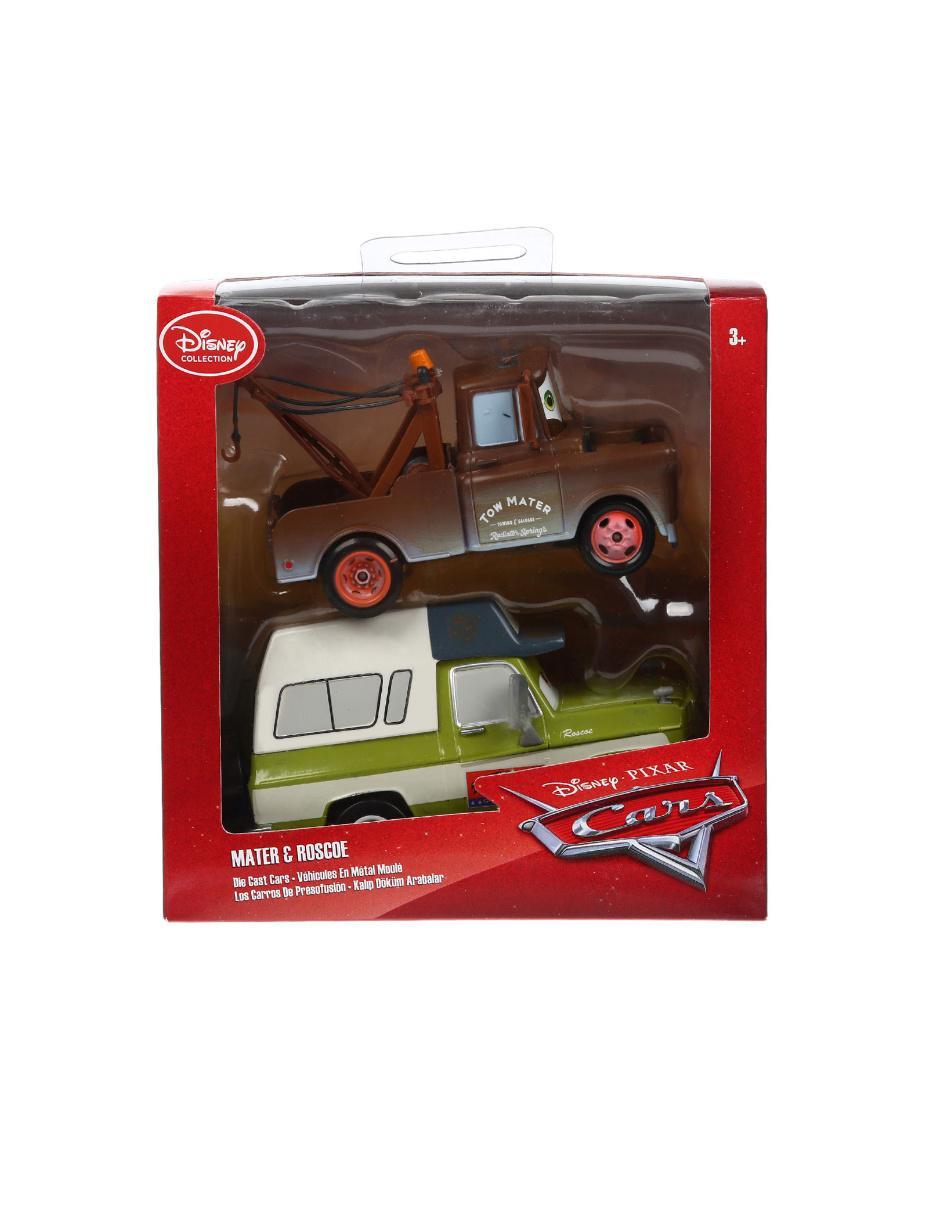 Vista Rápida. Set de Coches Mater y Roscoe Disney Collection Cars 4ff8c9b57988