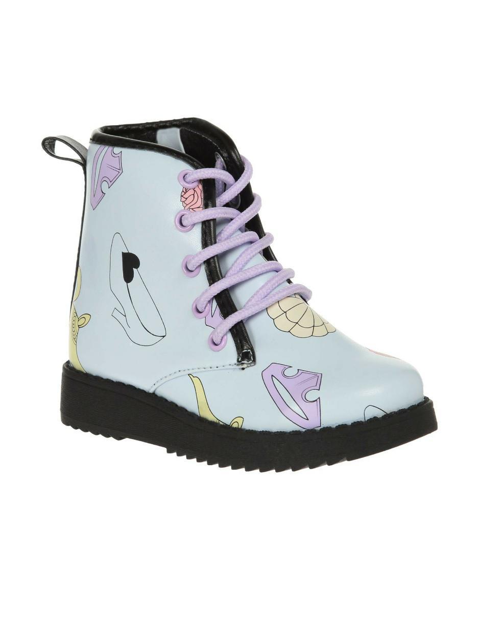 el precio más bajo 0d7fd 91e81 Botas de lluvia Disney Collection Princesas Fashionista para niña