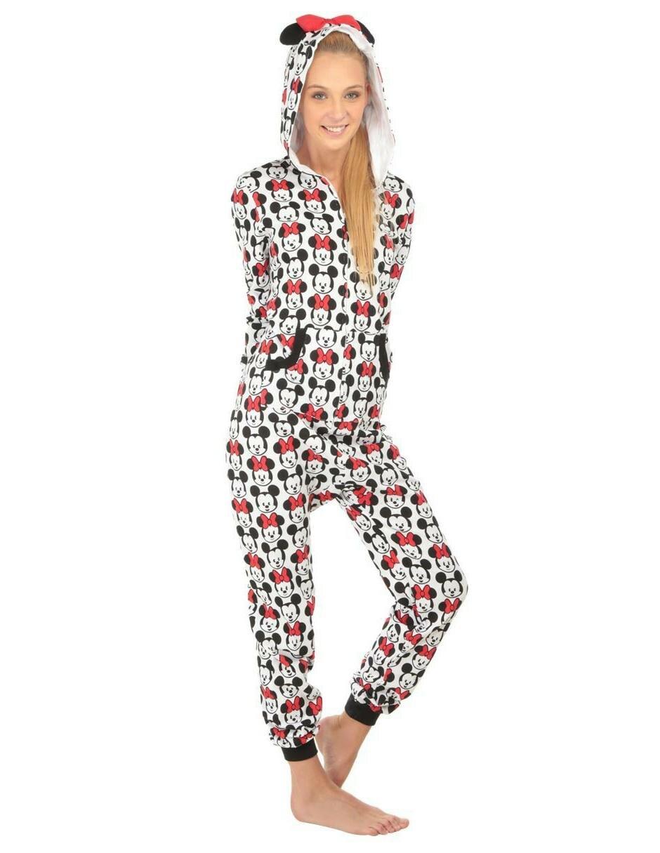 096f53d90 Pijama Jumpsuit Disney Collection Mickey and Minnie para Dama